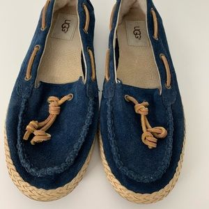 UGG Navy Loafers with